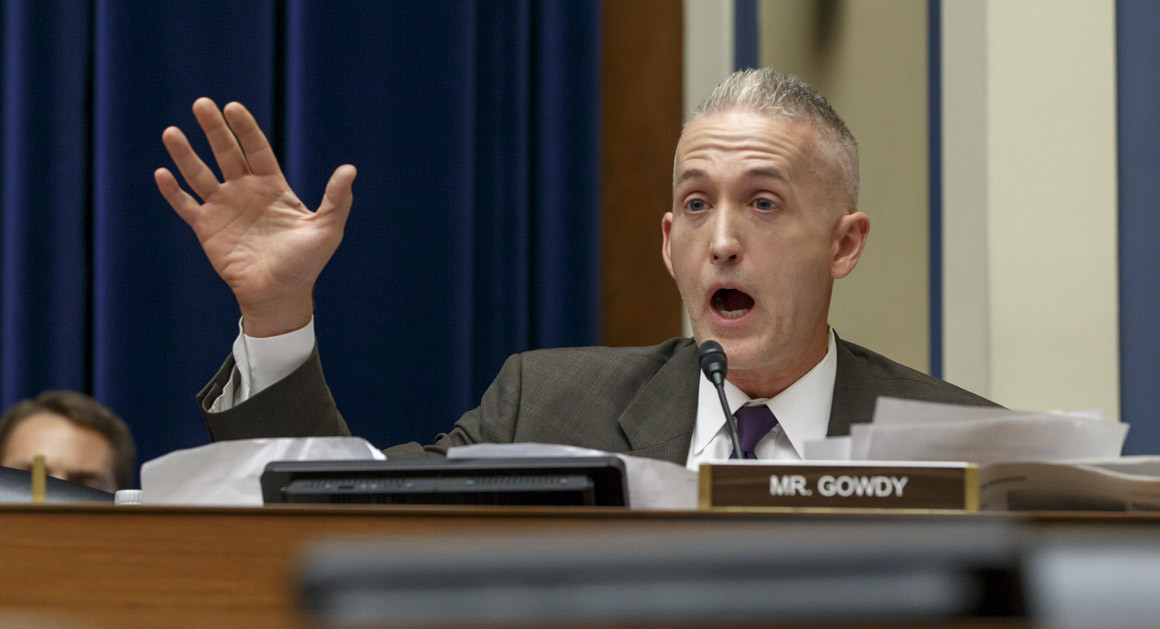 Gowdy Clinton investigation