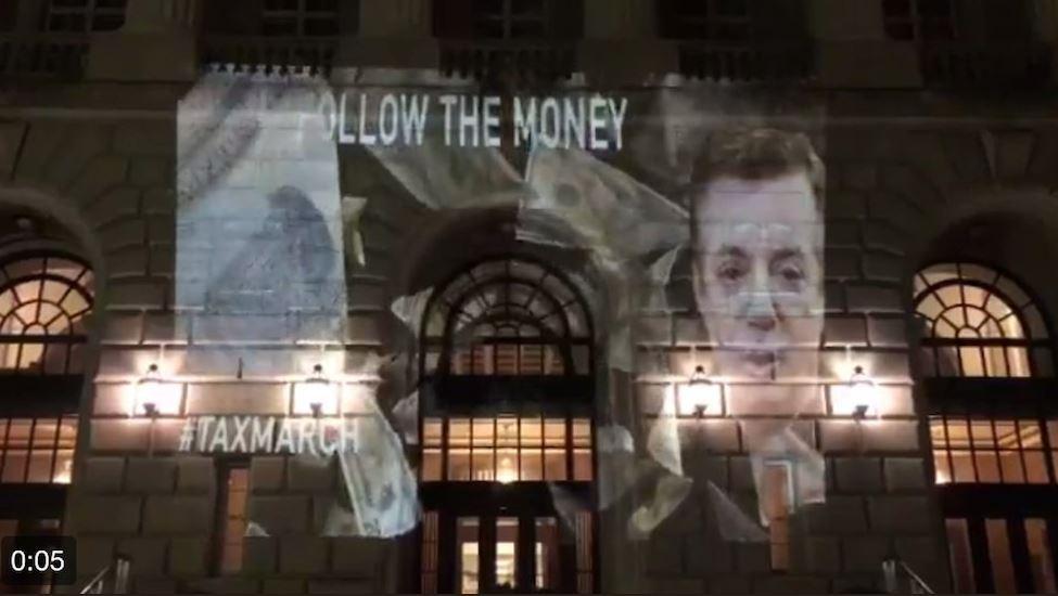 Manafort Trump IRS building