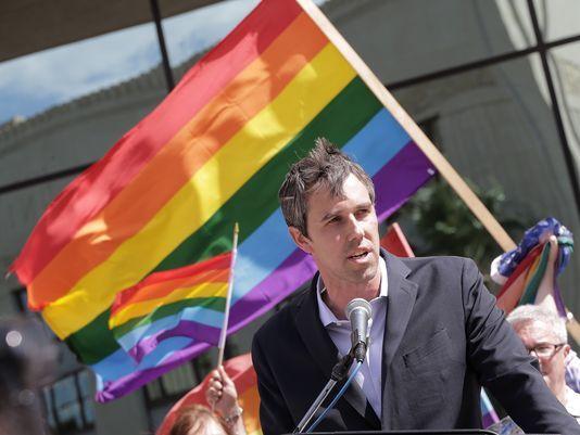 beto o'rourke is the hopeful challenger for ted cruz's senate seat