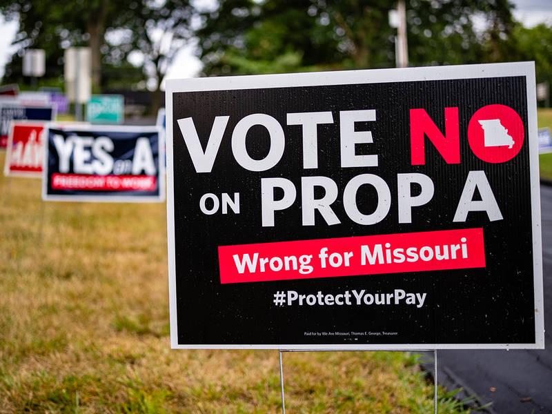 right to work Missouri